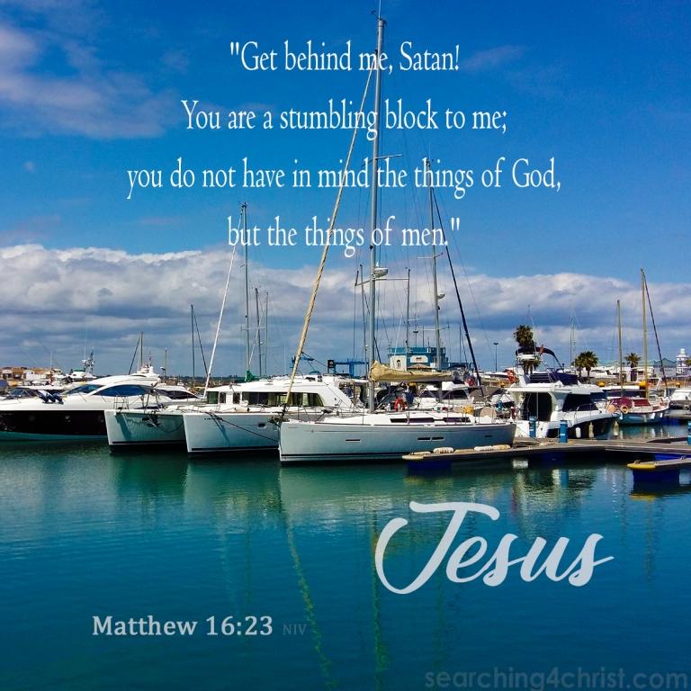 Matthew 16:23
