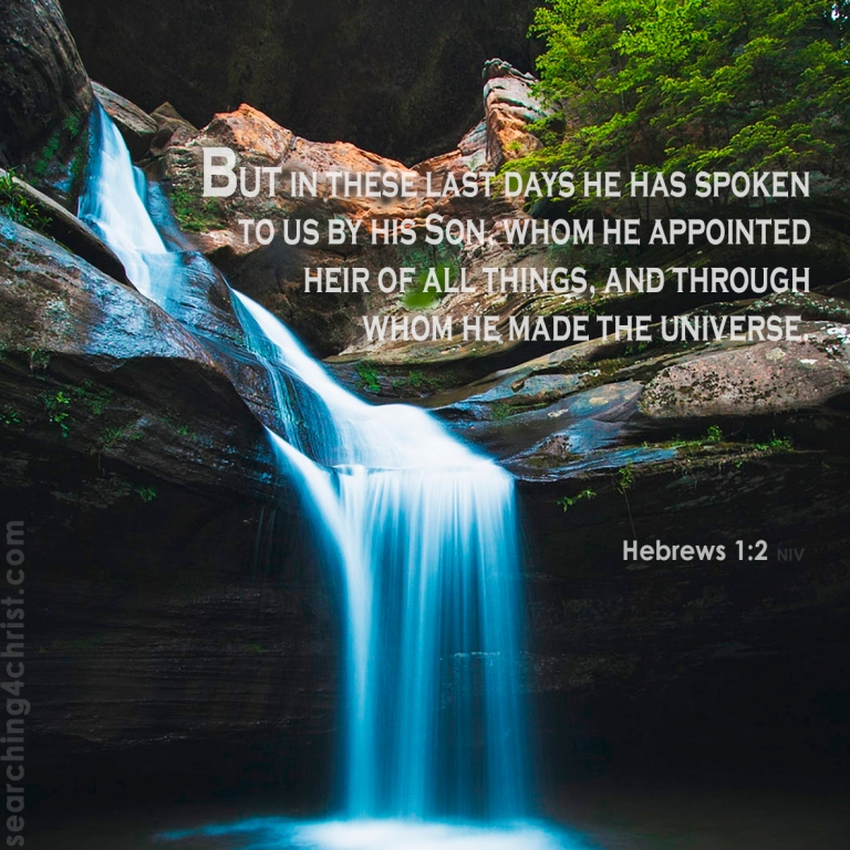 Hebrews 1:2 The Son