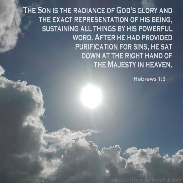 Hebrews 1:3 The Radiance