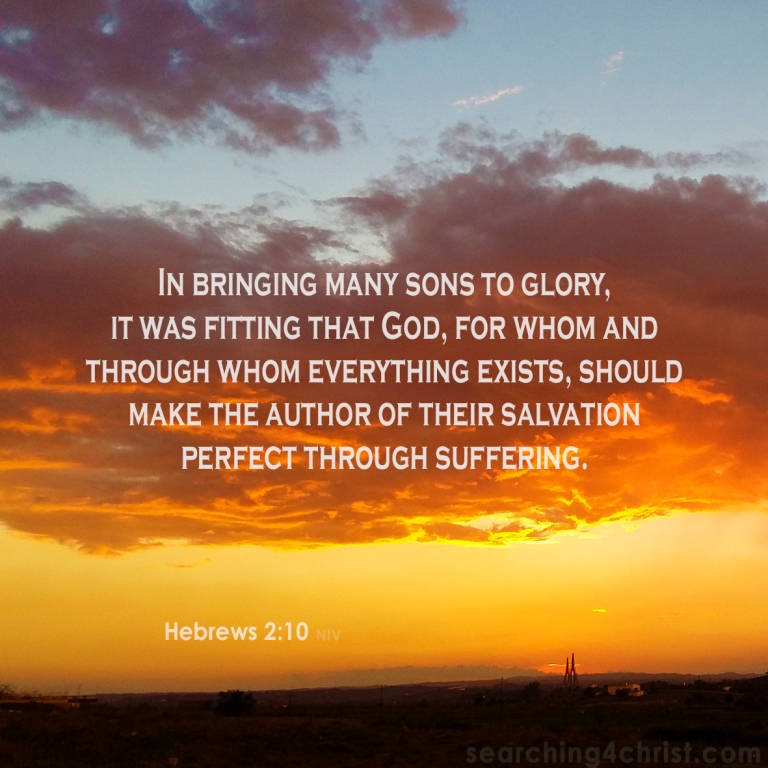 Hebrews 2:10 Perfect Through Suffering