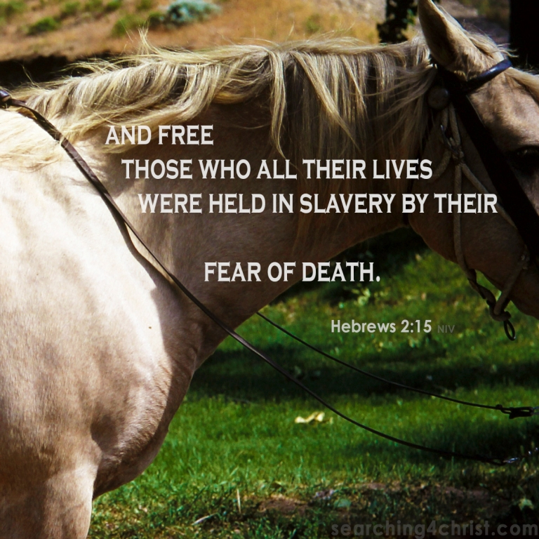 Hebrews 2-15 Fear of Death