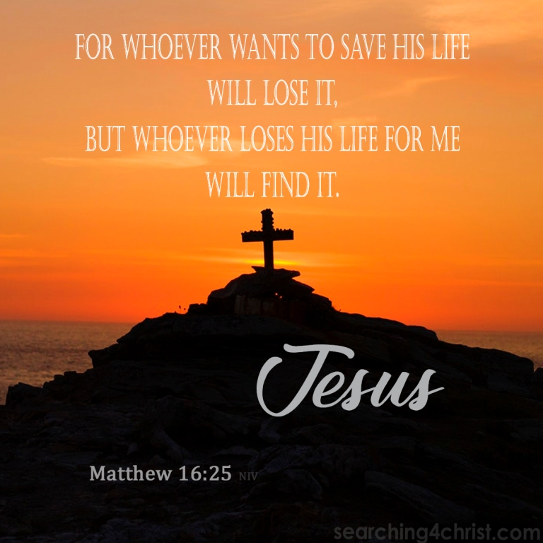 Matthew 16:25