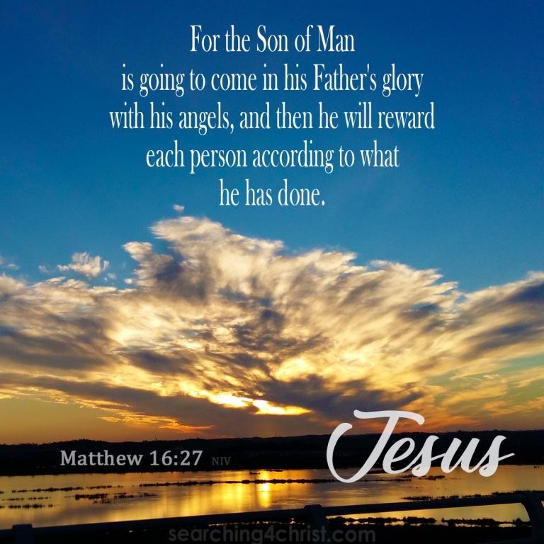 Matthew 16:27