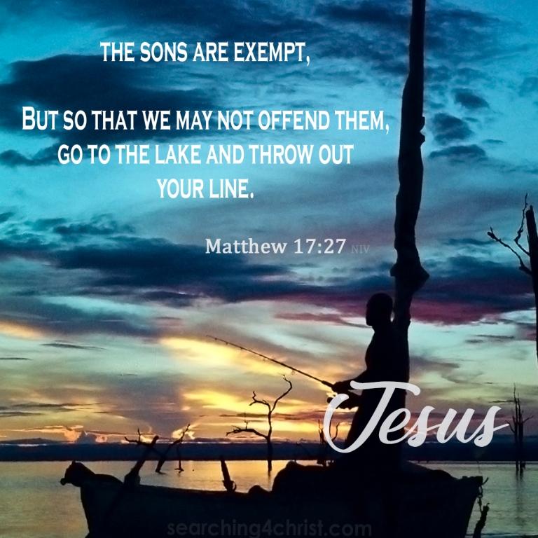 Matthew 17:27