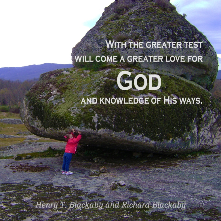 With Greater Test