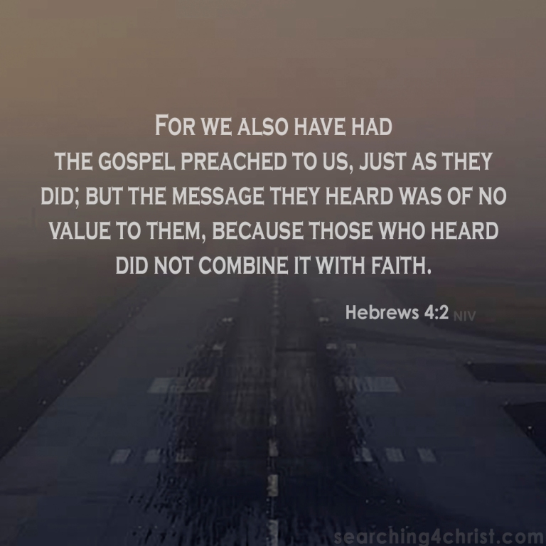 Hebrews 4:2 Of No Value