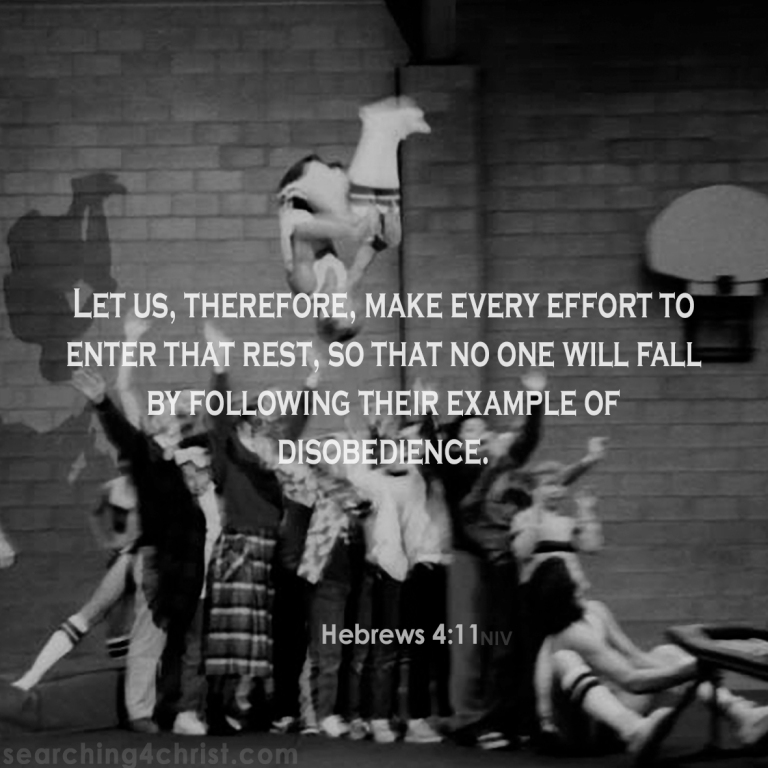 Hebrews 4:11 Make Every Effort