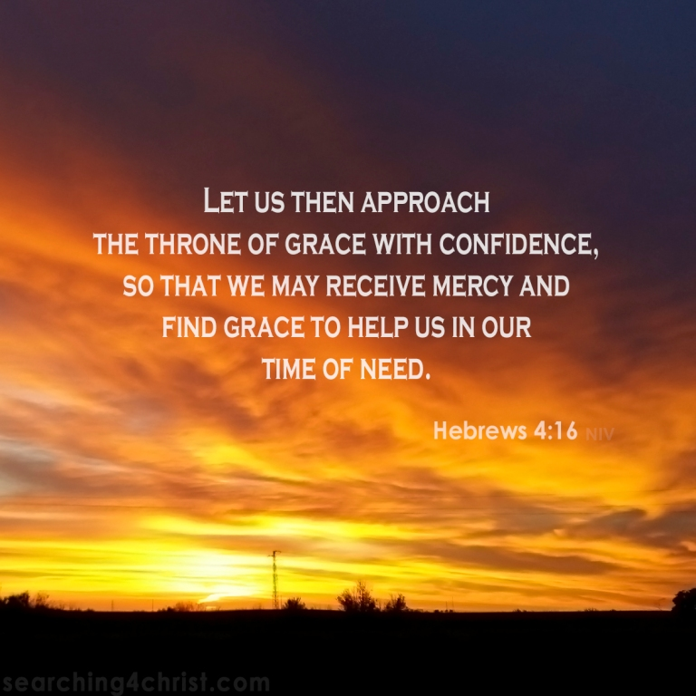 Hebrews 4:16 Approach the Throne
