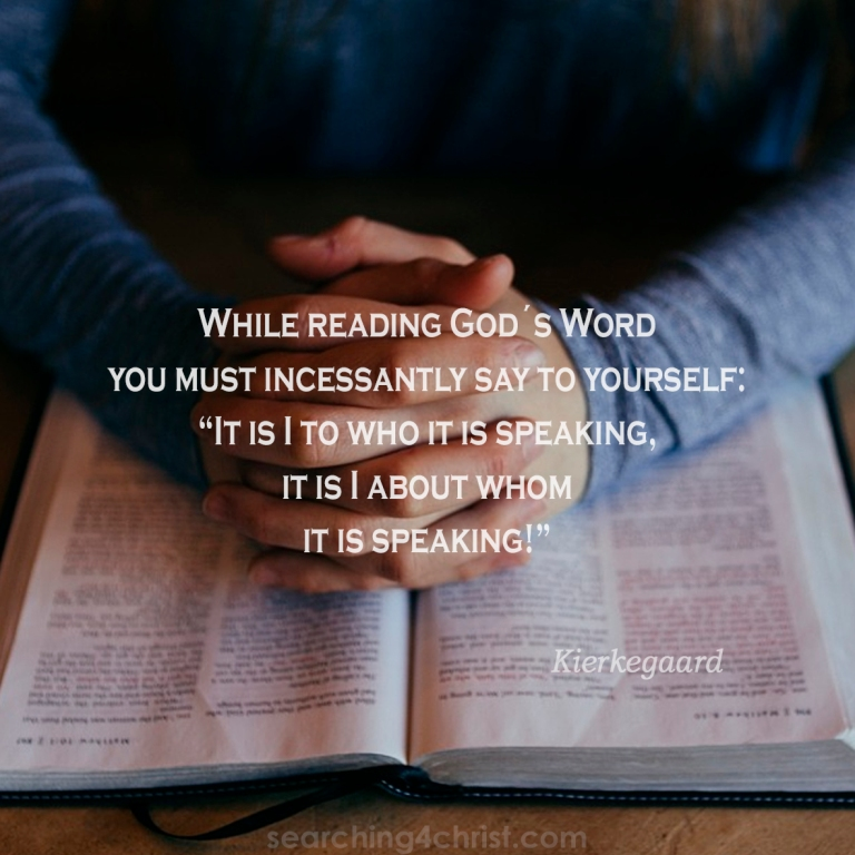 While Reading God´s Word