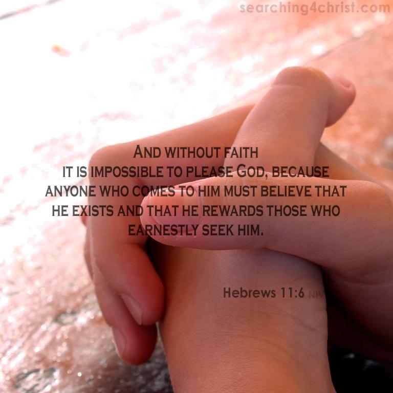 Hebrews 11:6 faith reward
