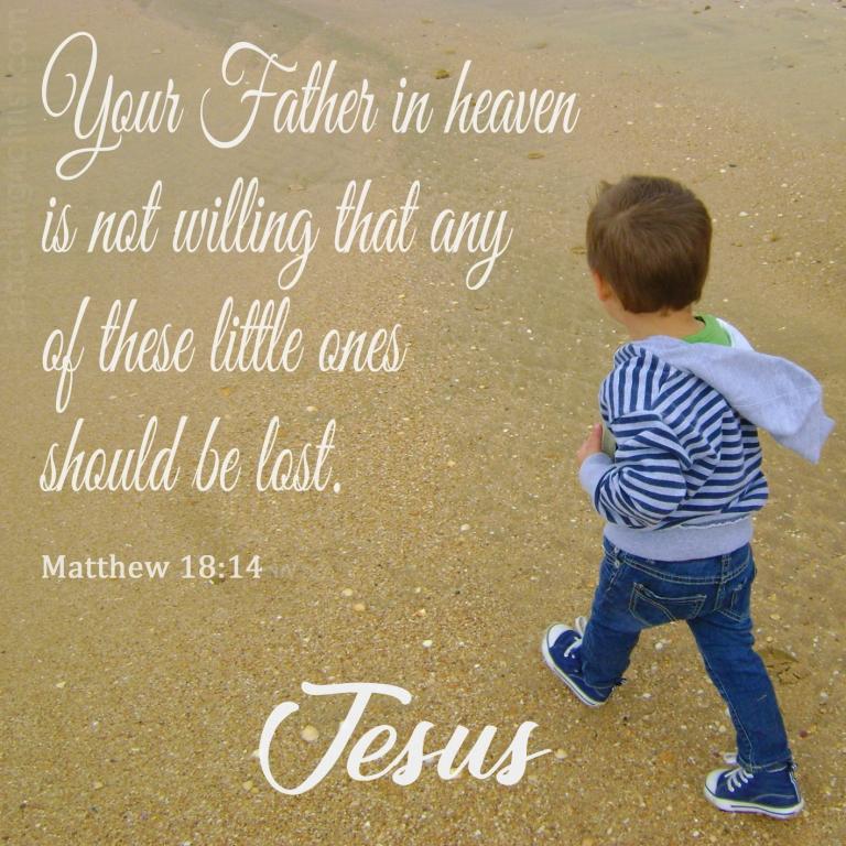 Matthew 18:14