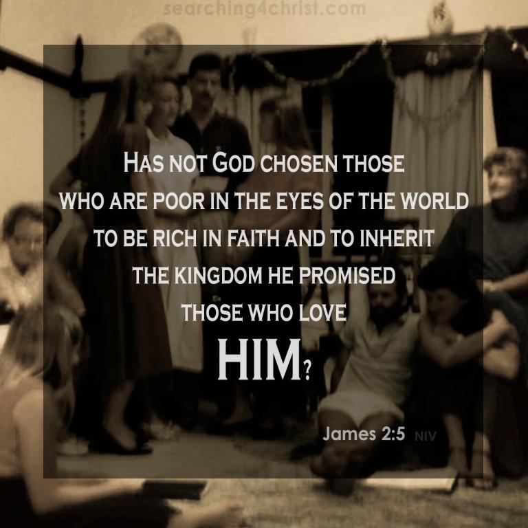 James 2:5 To Inherit the Kingdom