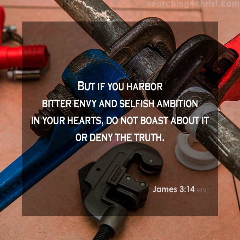 James 3:14 In Our Hearts