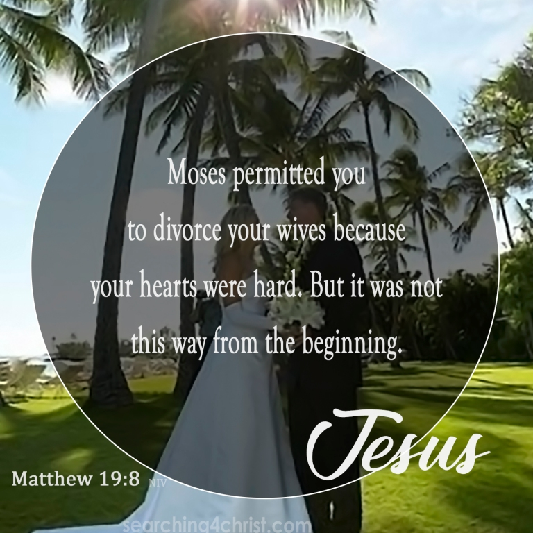 Matthew 19:8