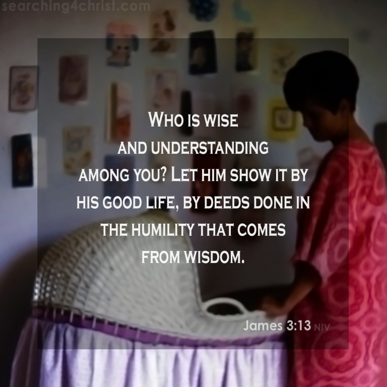 James 3:13 Humble Wisdom