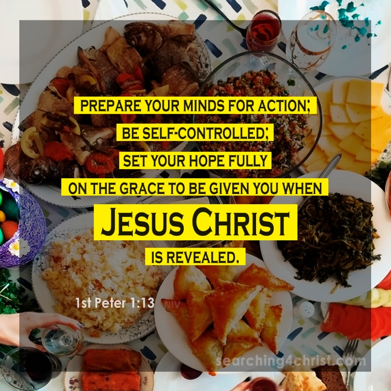 1st Peter 1:13 Self-Controlled