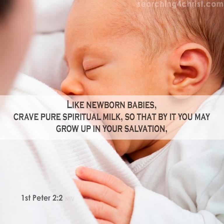 1st Peter 2:2 Crave Spiritual