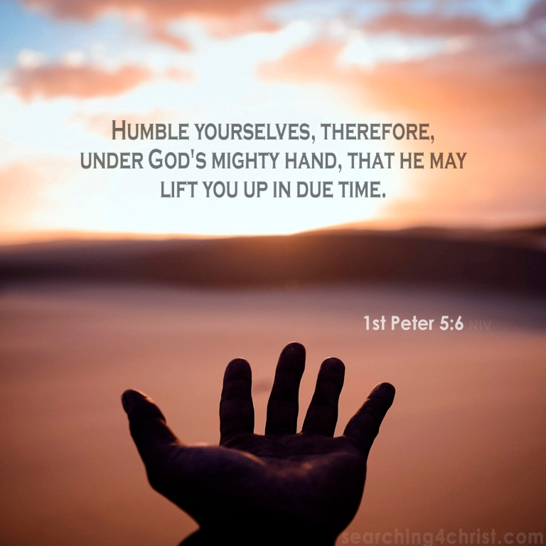 1st Peter 5:6 God´s Mighty Hand
