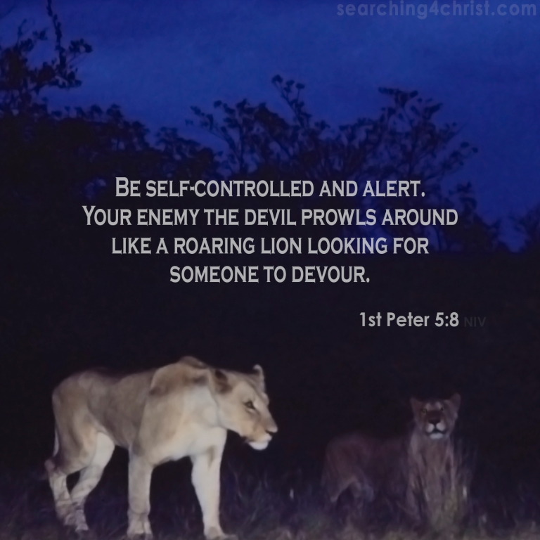 1st Peter 5:8 A Roaring Lion