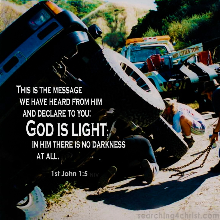 1st John 1:5 God is Light