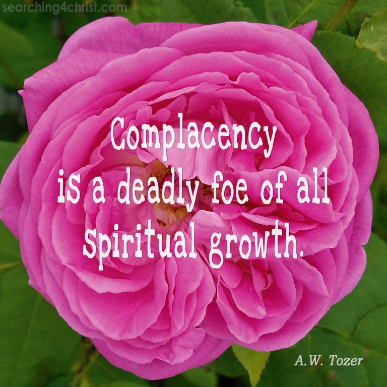 Complacency is Deadly