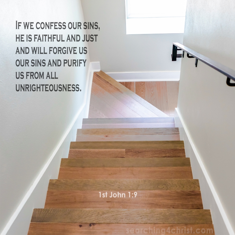 1st John 1:9 Confess to the Faithful