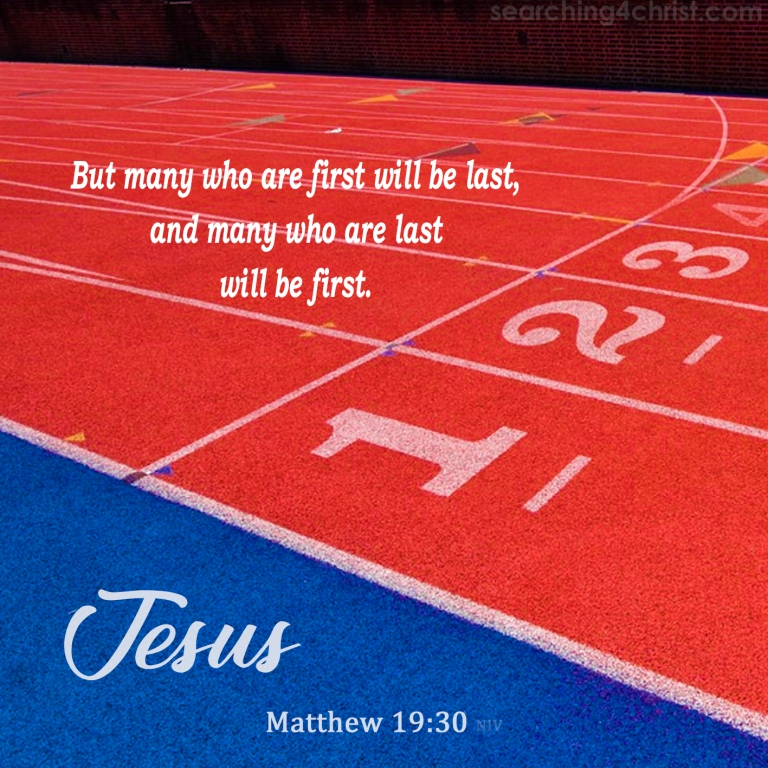 Matthew 19:30