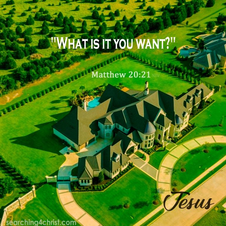 Matthew 20:21