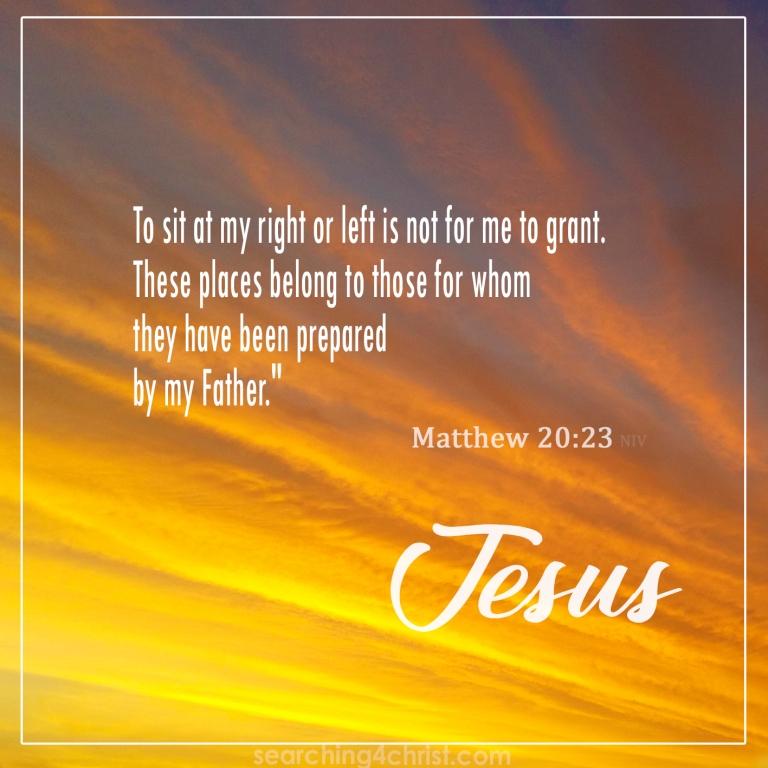 Matthew 20:23
