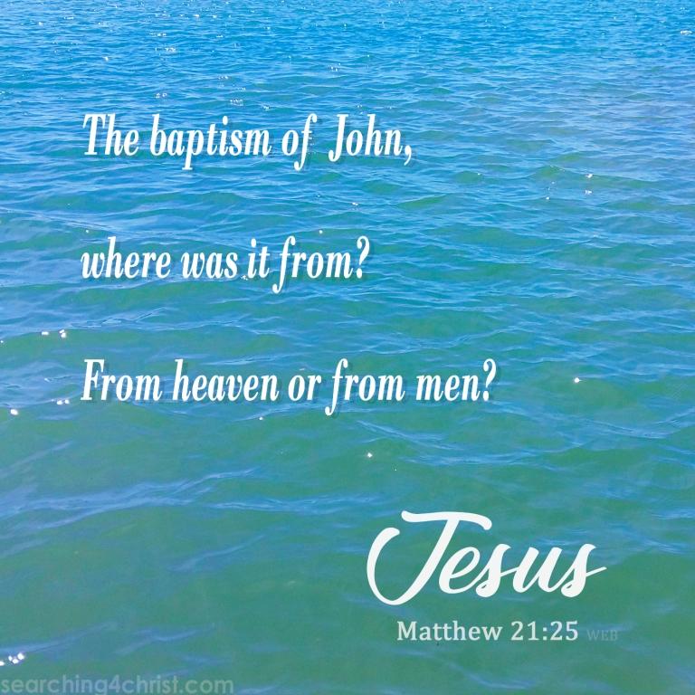 Matthew 21:24