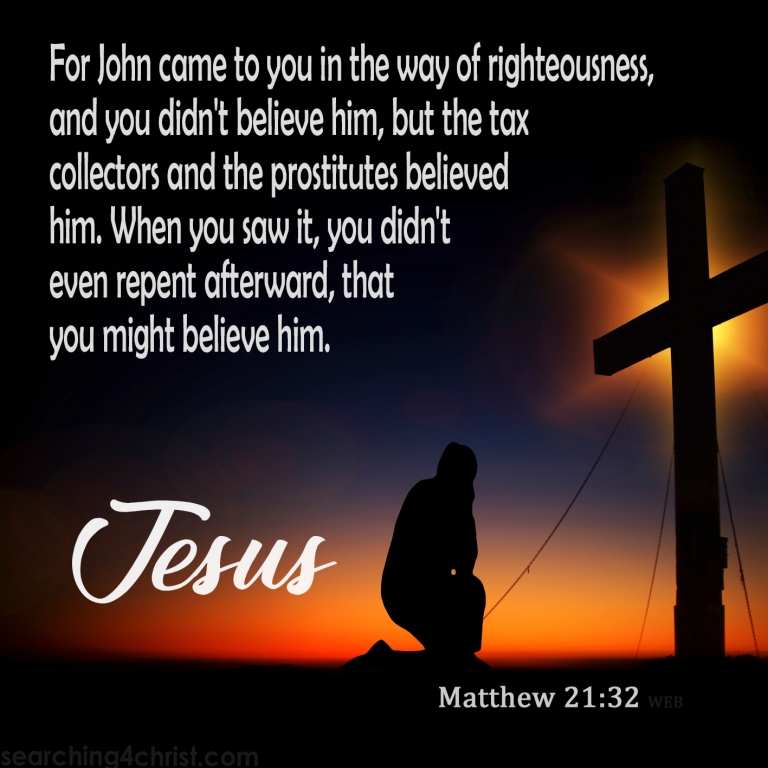 Matthew 21:32