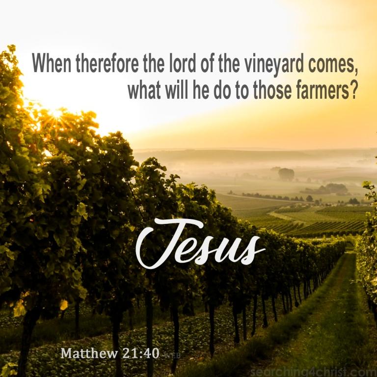Matthew 21:40