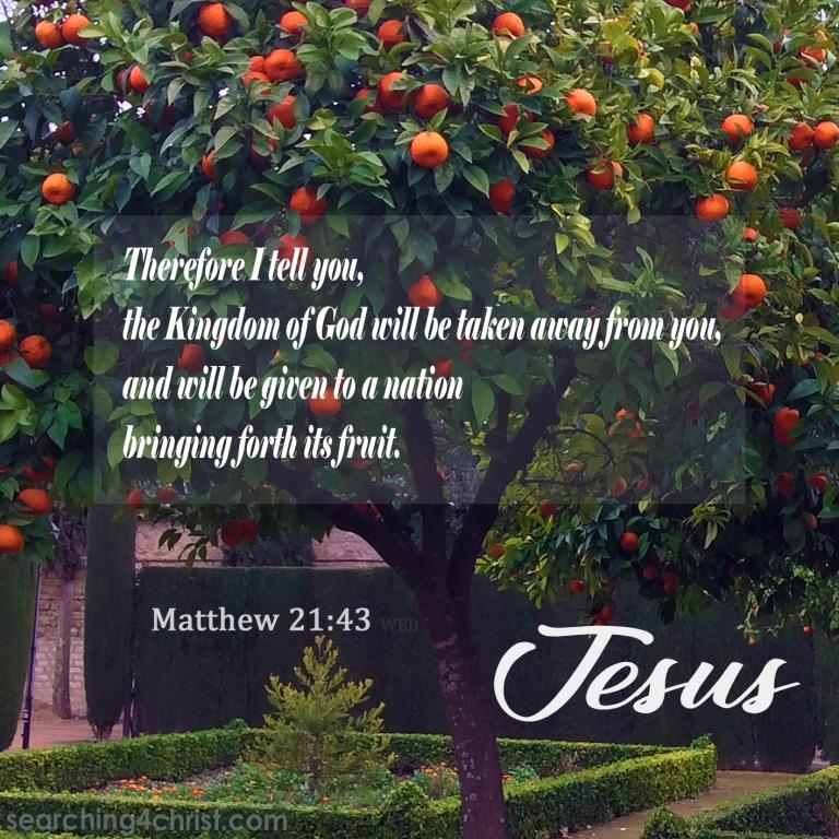Matthew 21:43