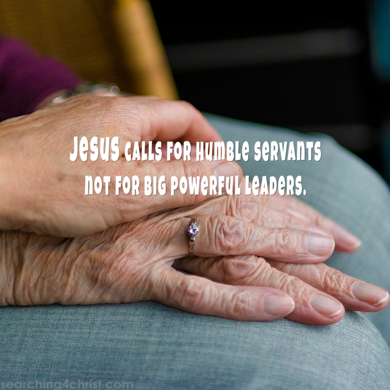 Servant not Power