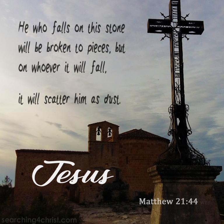 Matthew 21:44