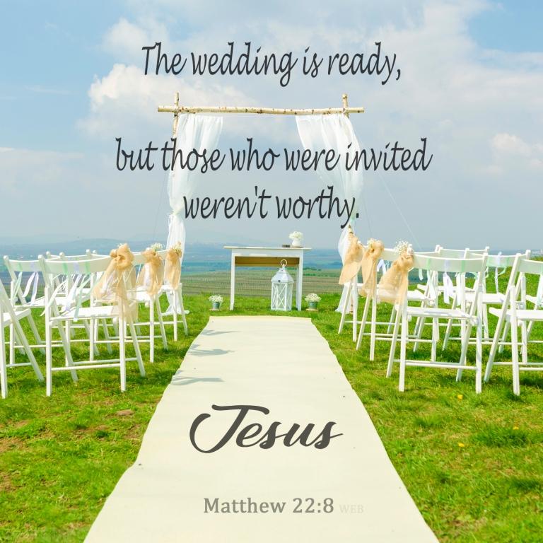 Matthew 22:8
