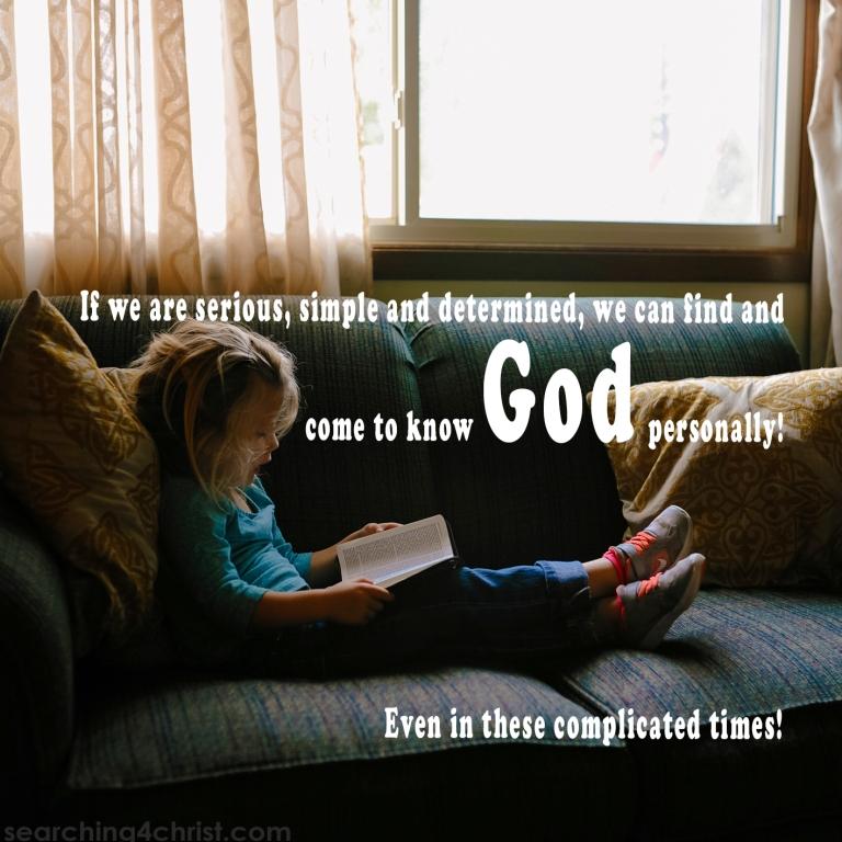 To Find God