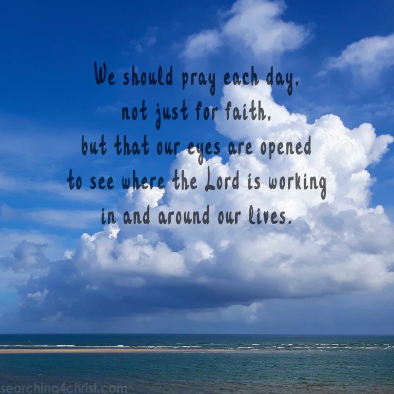 Pray for Open Eyes