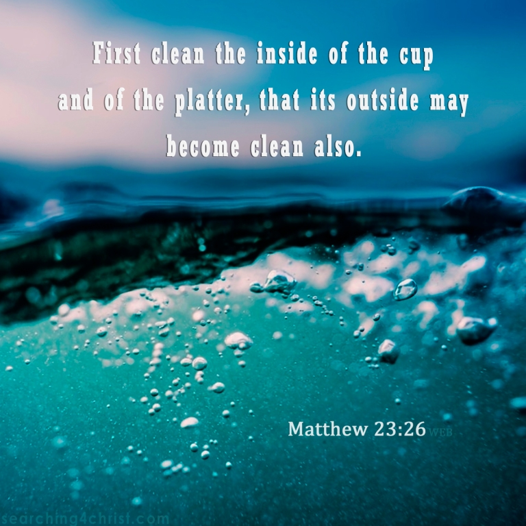 Matthew 23:26