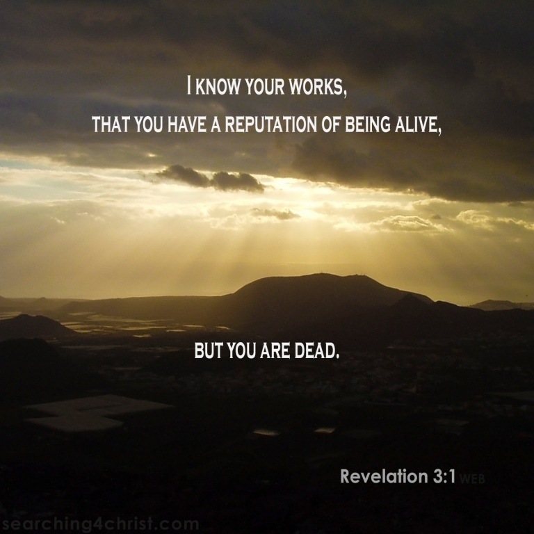 Revelation 3:1 Alive or Dead