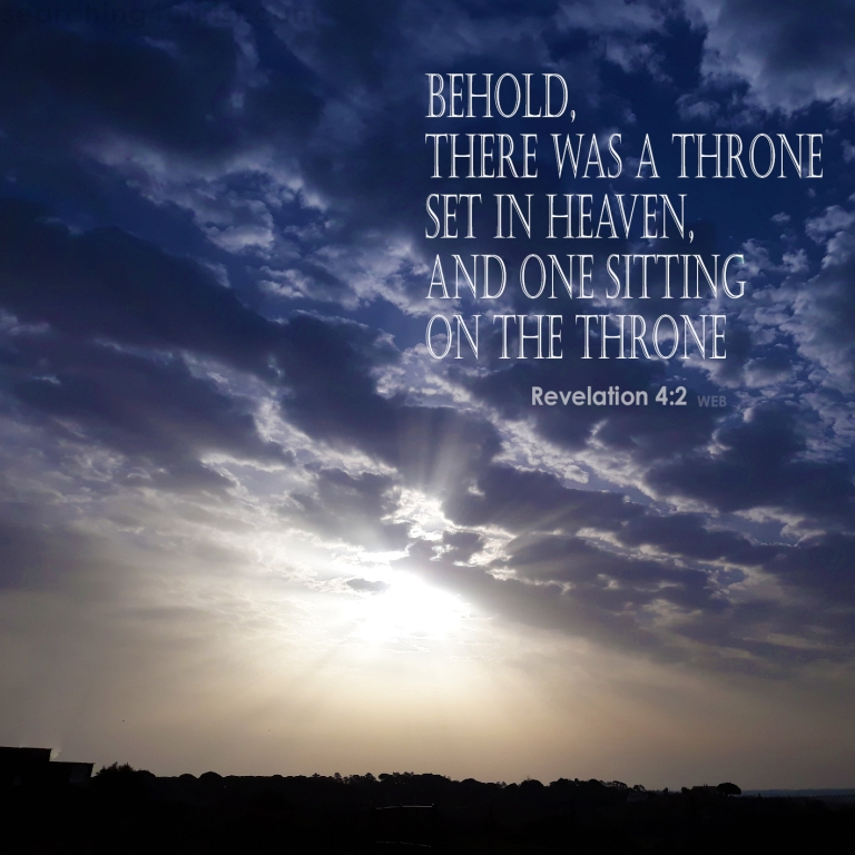 Revelation 4:2 On the Throne