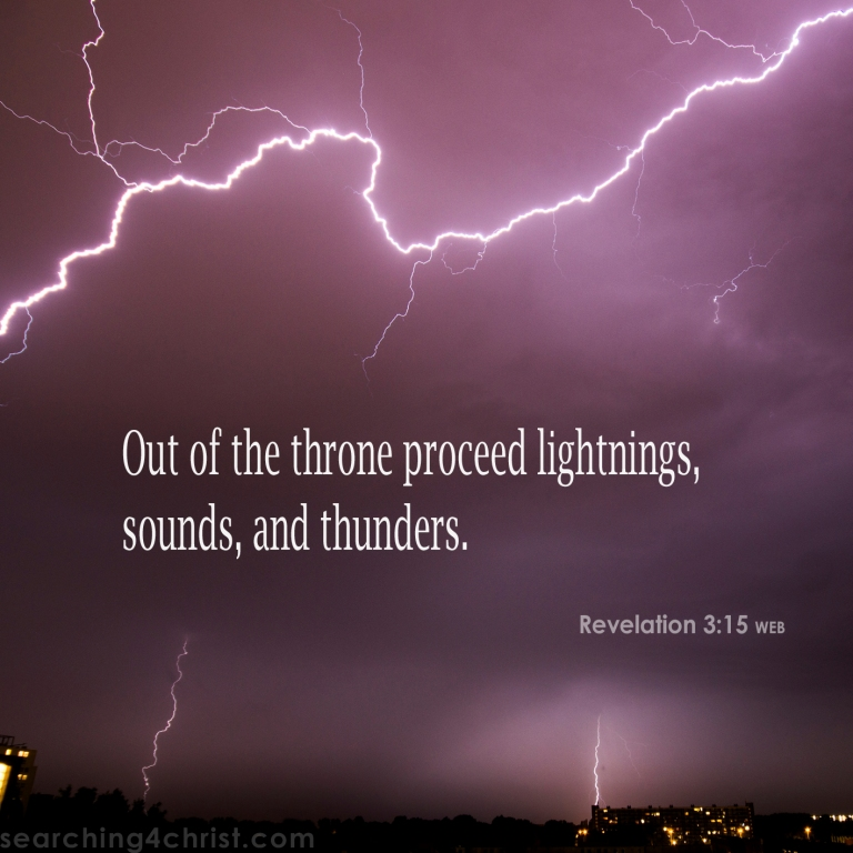Revelation 4:5