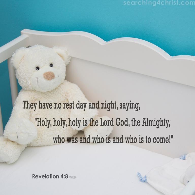 Revelation 4:8 No Rest