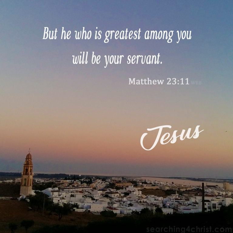 Matthew 23:11