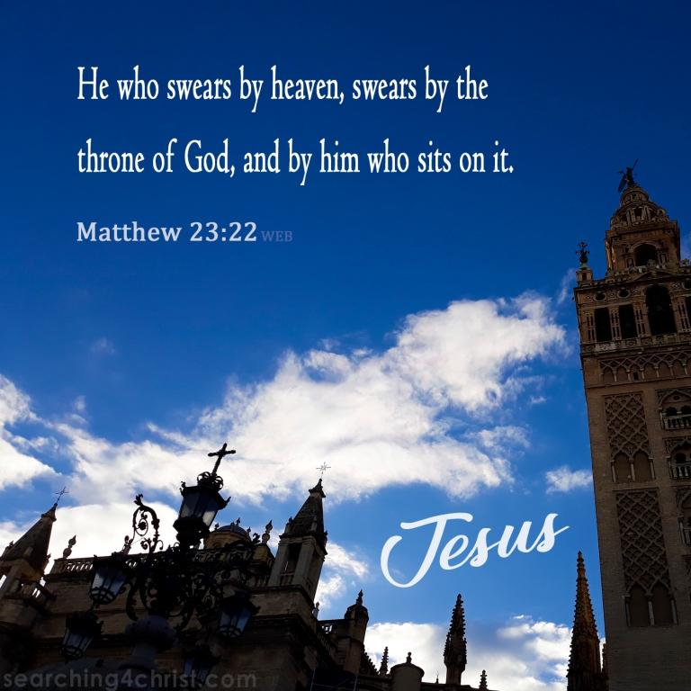 Matthew 23.22