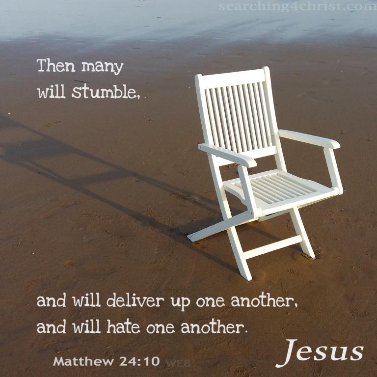 Matthew 24:10
