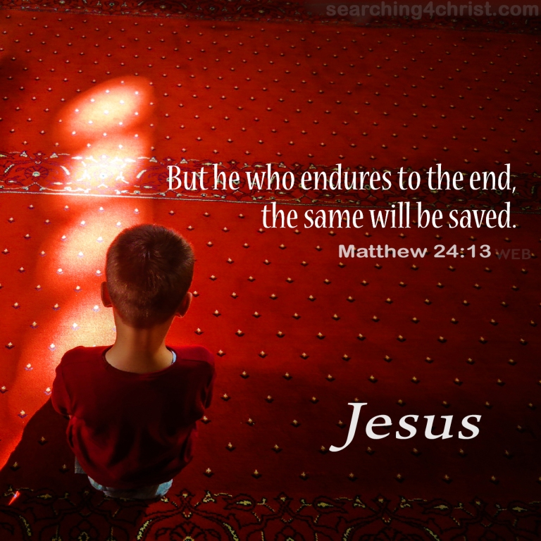 Matthew 24:13