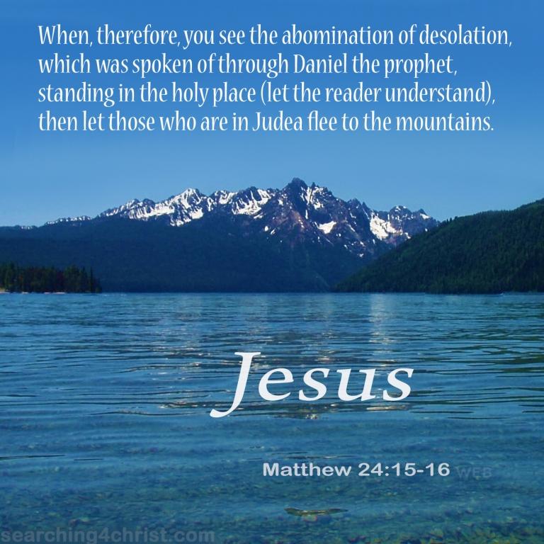 Matthew 24:15-16