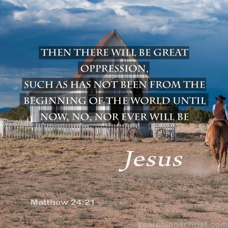 Matthew 24:21