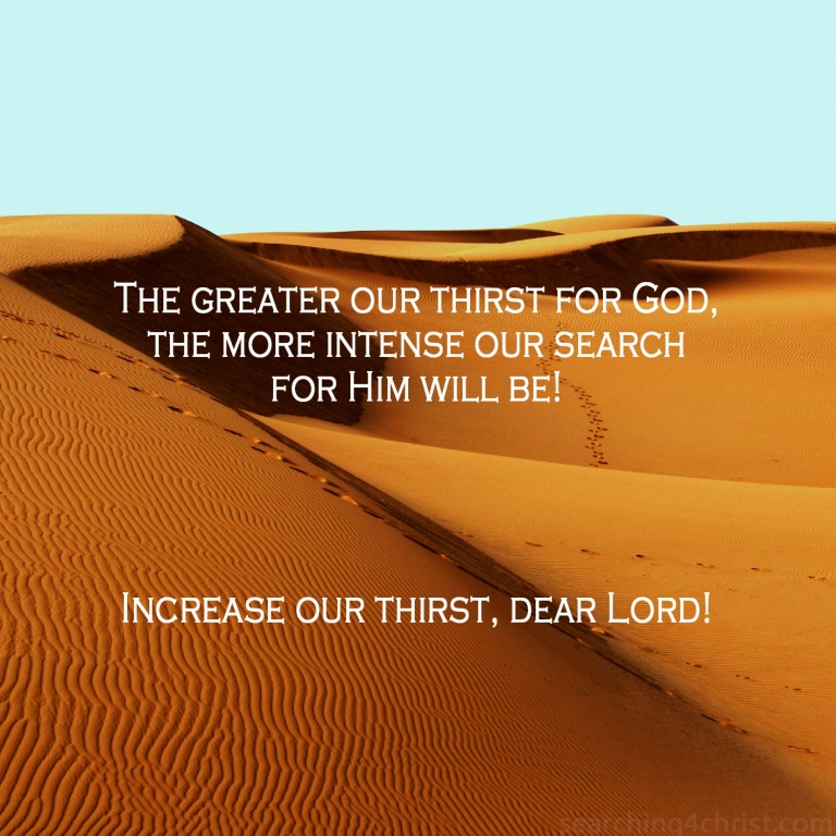 Greater Thirst
